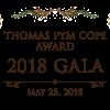 Thomas Pym Cope Award 2018 Gala