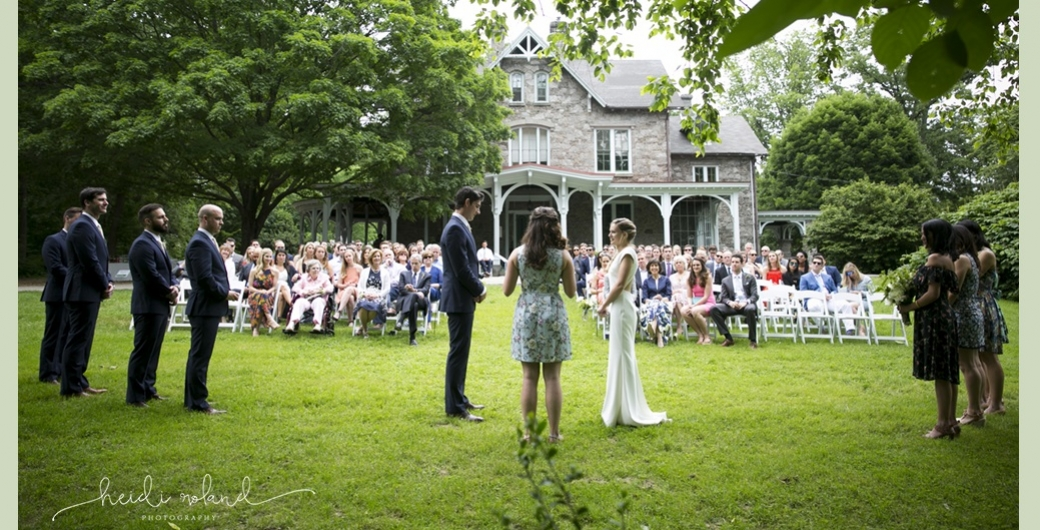Weddings at Awbury