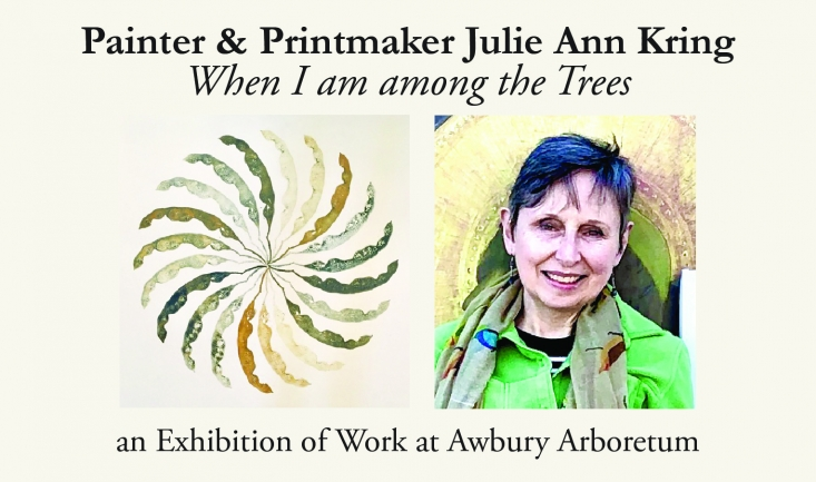 """""""When I Am Among the Trees"""" Art reception w/ Julie Kring"""