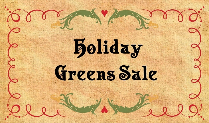 Holiday Greens Sale 2020 – Sold out