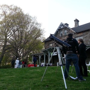 "The Chew and Belfield Neighbors Club Brings ""Astronomy Night"" to Awbury"