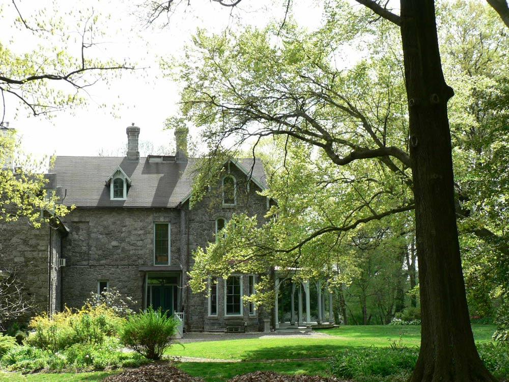 Francis Cope House - Awbury Arboretum - Philadelphia, PA