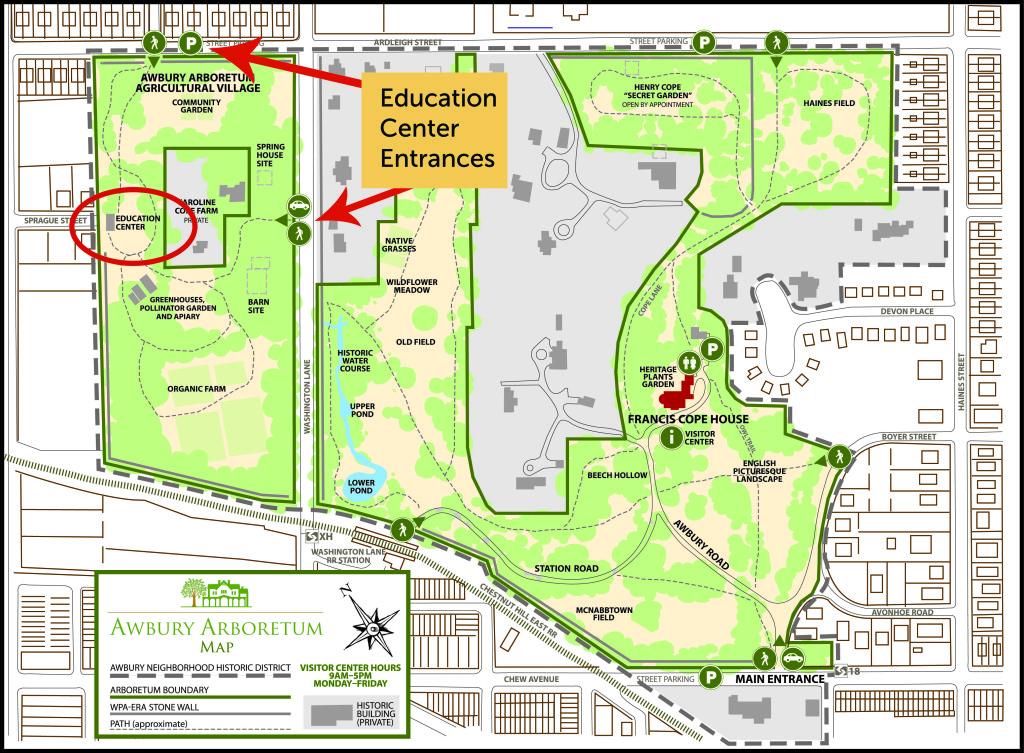 Awbury map Em modified 10 2010