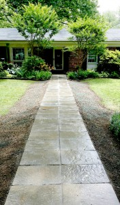 Hardscaping installed by AAL