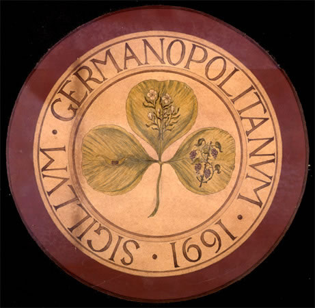 Germantown seal, featuring clover