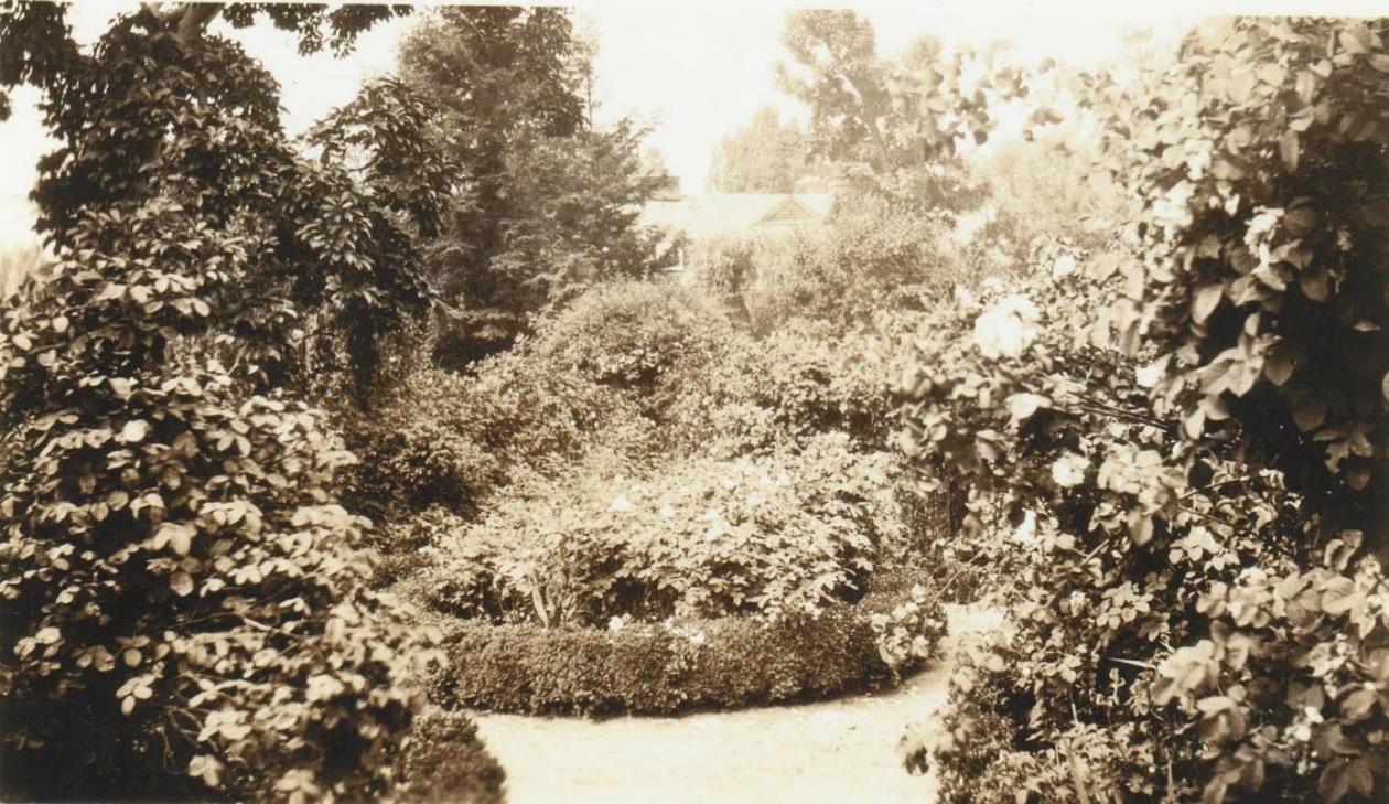 Wyck garden, circa 1932, Wyck Association