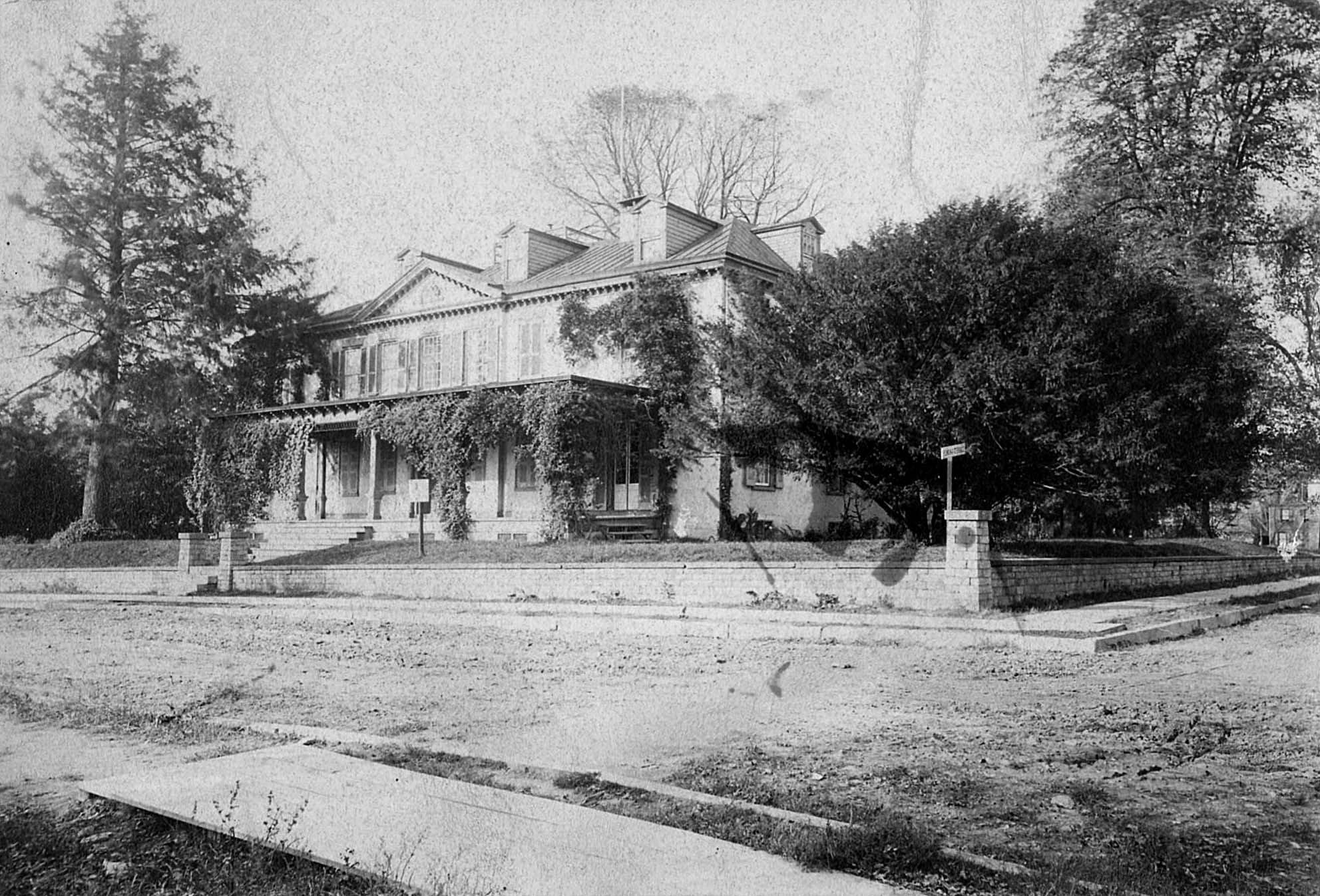 Photograph of Pomona Grove, c. 1886