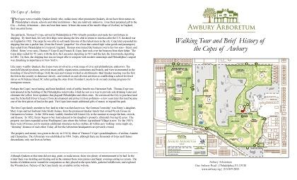 Awbury Arboretum Historic Walking Tour