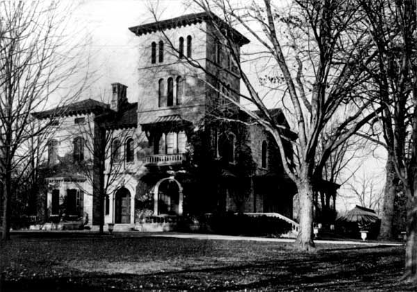 Fern Hill in 1852, Bryn Mawr College Archive