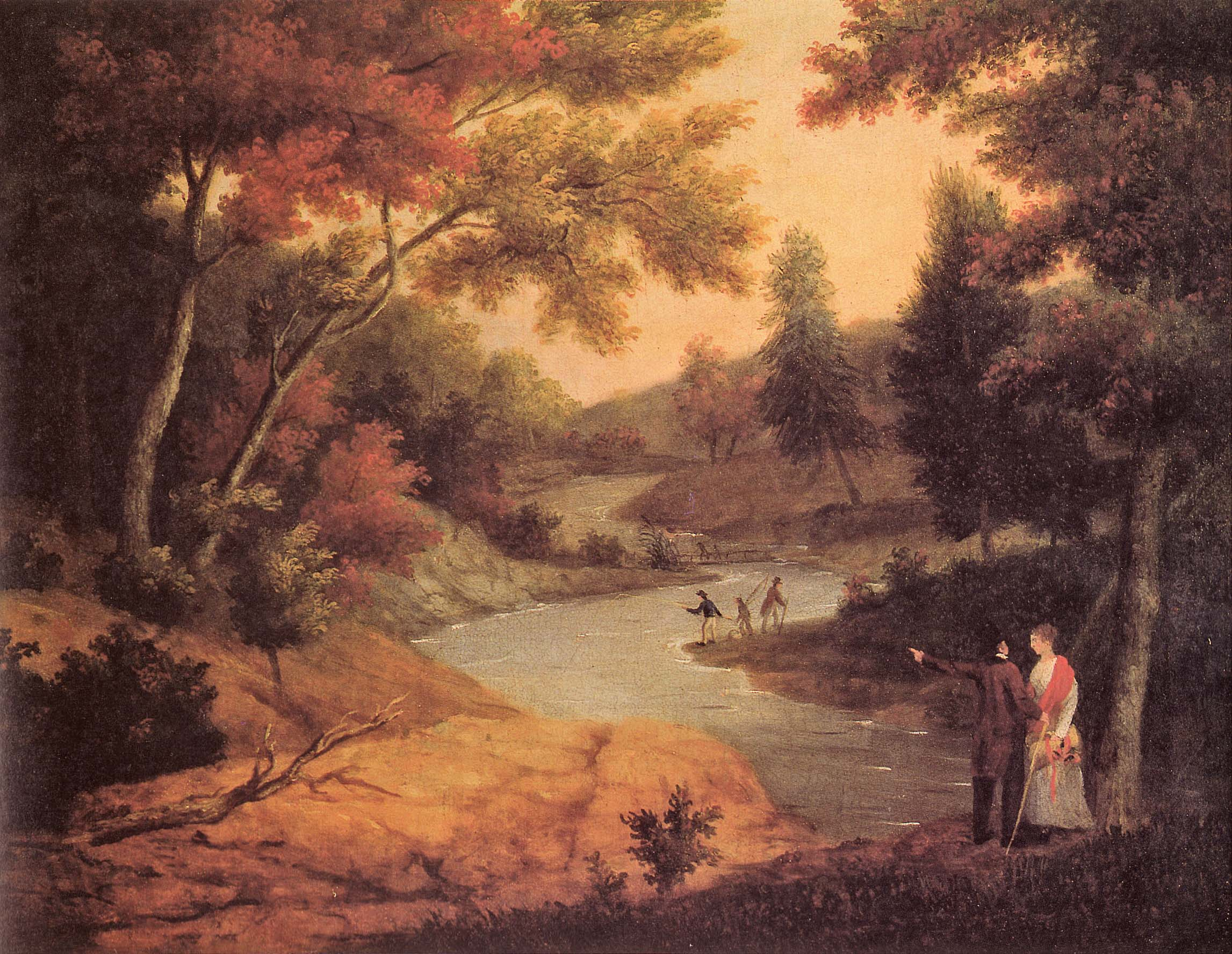 View of the Wissahickon by James Peale