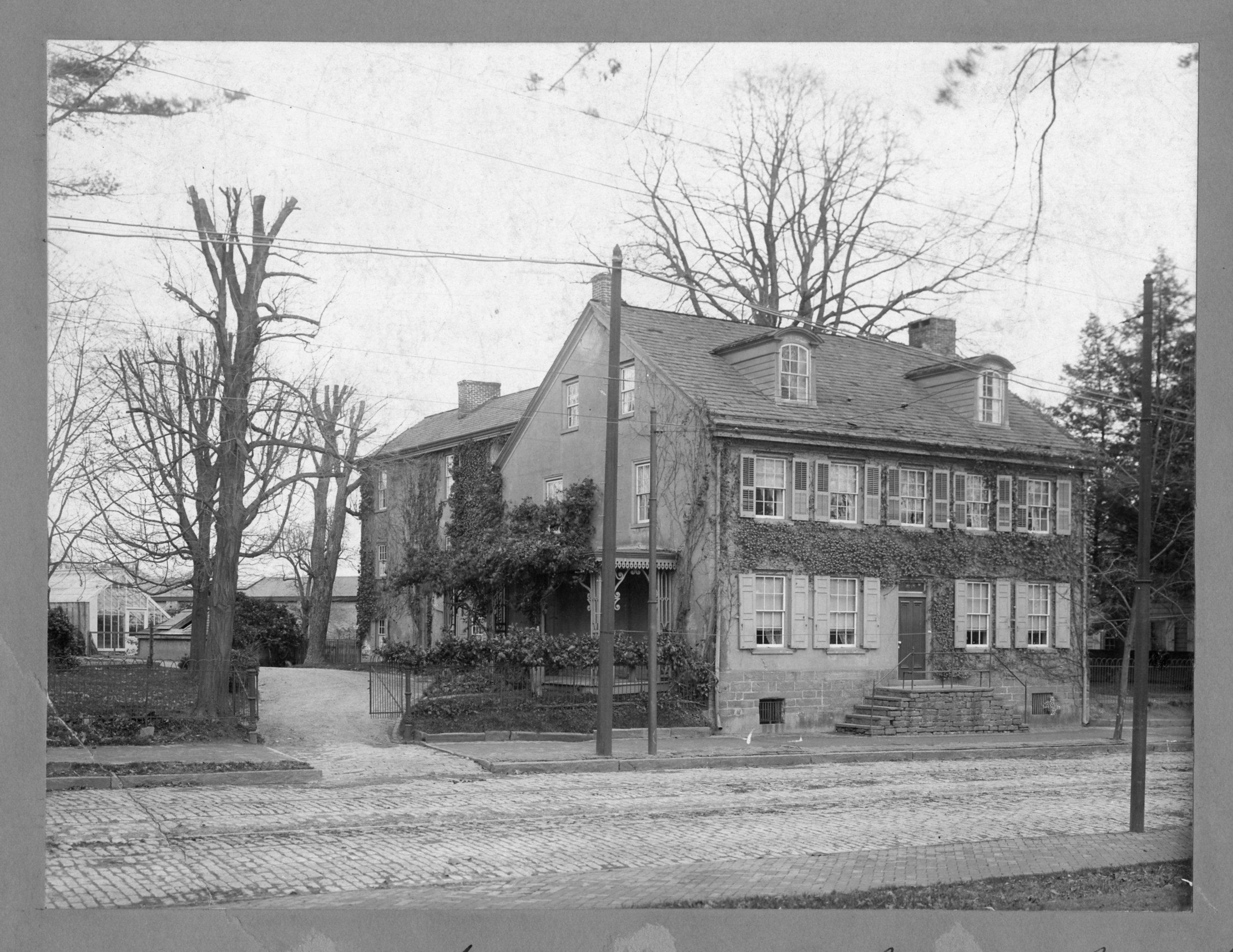 Hesser House, circa 1900