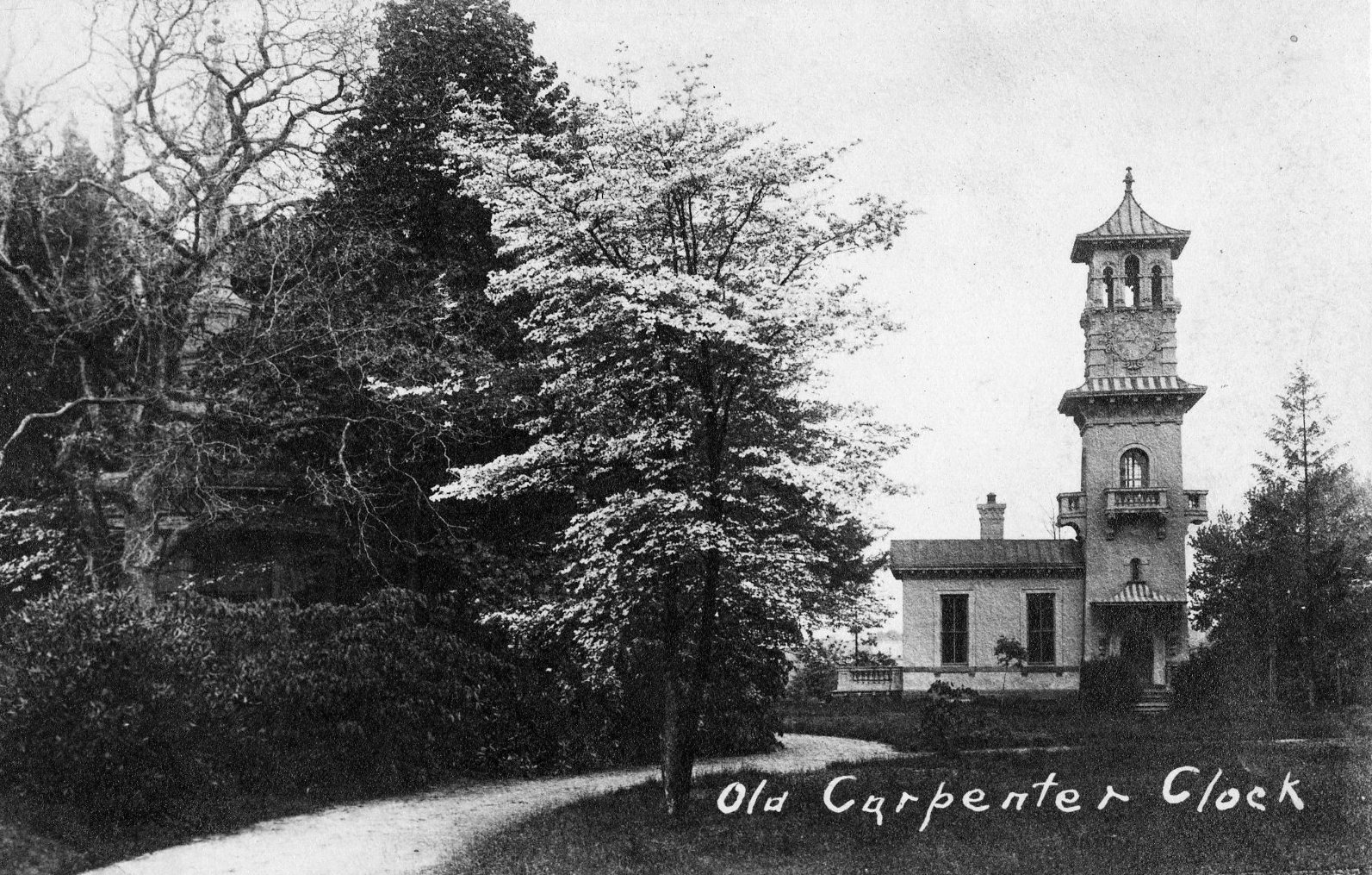 the Clock Tower on the George W. Carpenter estate, Phil-Ellena