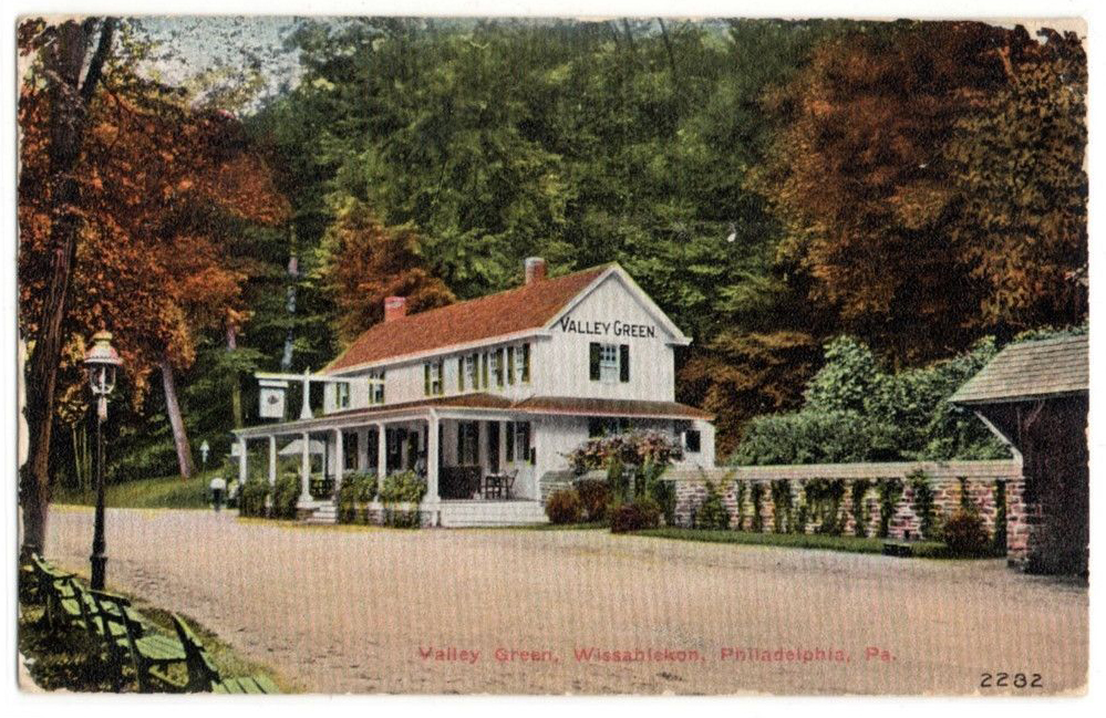 Valley Green Inn; 1910 postcard